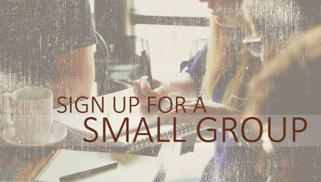 Small Group Sign-ups
